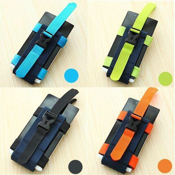 Armband thế hệ mới có 4 màu: xanh dương, xanh chuối, đen và cam