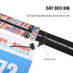 Thắt lưng chạy bộ tích hợp dây đeo BIB Aonijie W966