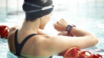 TomTom Multi-Sport swimming