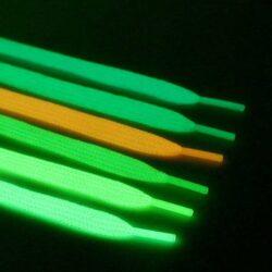 Dây giày dạ quang phát sáng (dây dẹt)