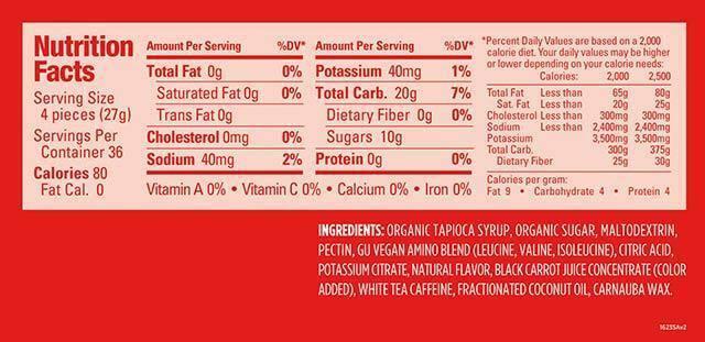 Kẹo dẻo bổ sung năng lượng GU Energy Chews