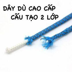 Dây giày phản quang tròn 3M Inverse Rope Laces - Cam