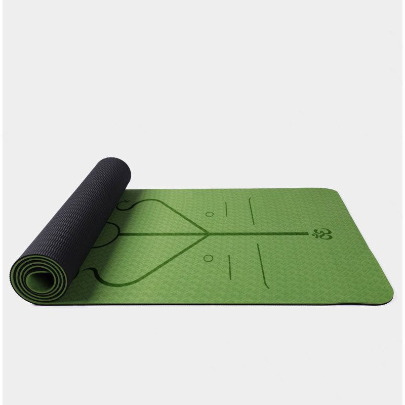 Thảm định tuyến TPE Body Line Yoga Mat (6mm)
