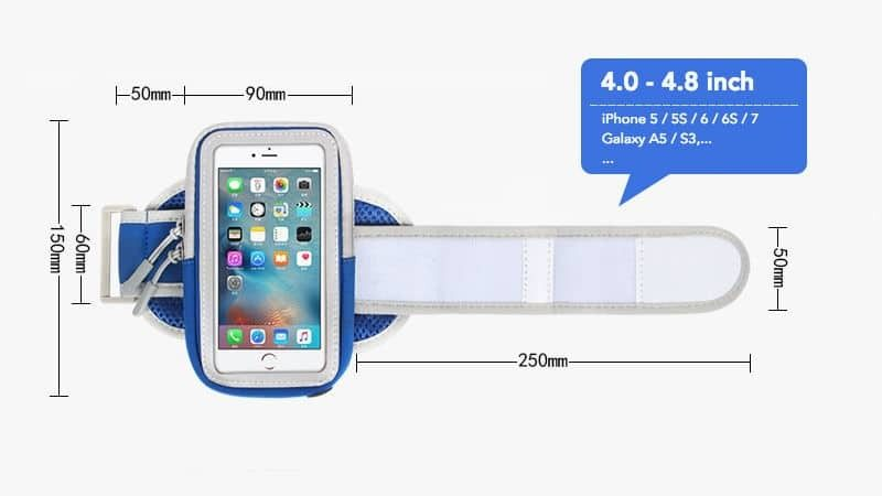 Armband thể thao cao cấp A006