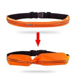 Thắt lưng chạy bộ phản quang 2 ngăn (phiên bản mới)