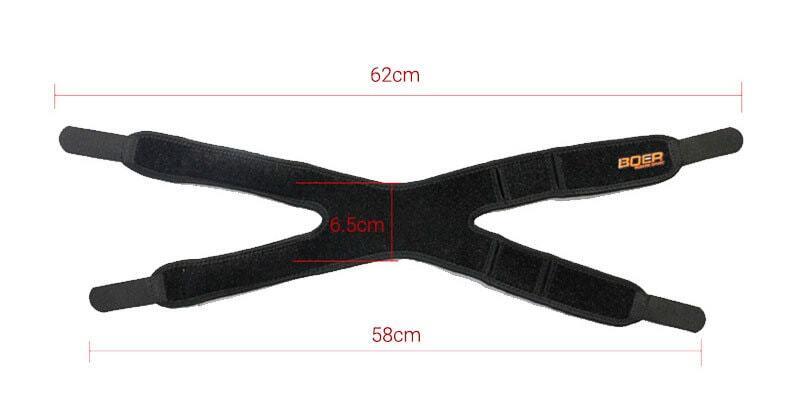 Băng hỗ trợ gối knee strap bản đôi Boer KN02s