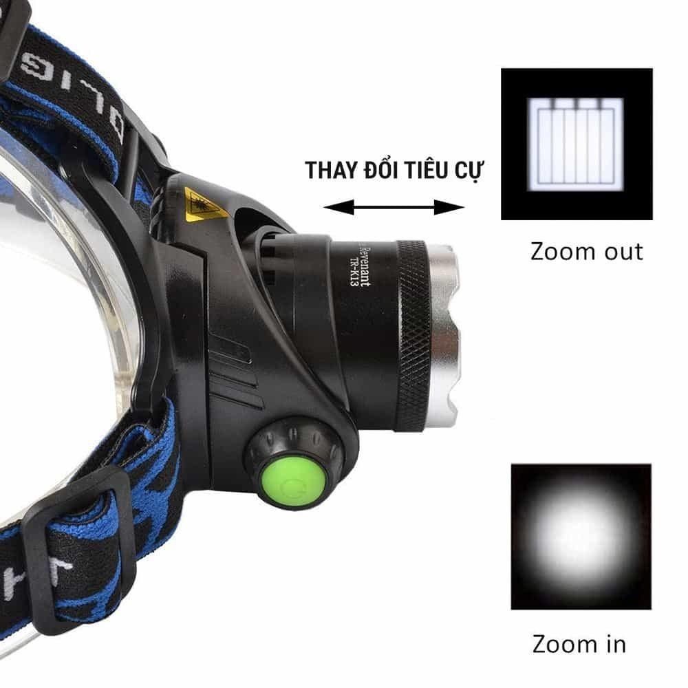 Đèn pin đội đầu LED T6 siêu sáng