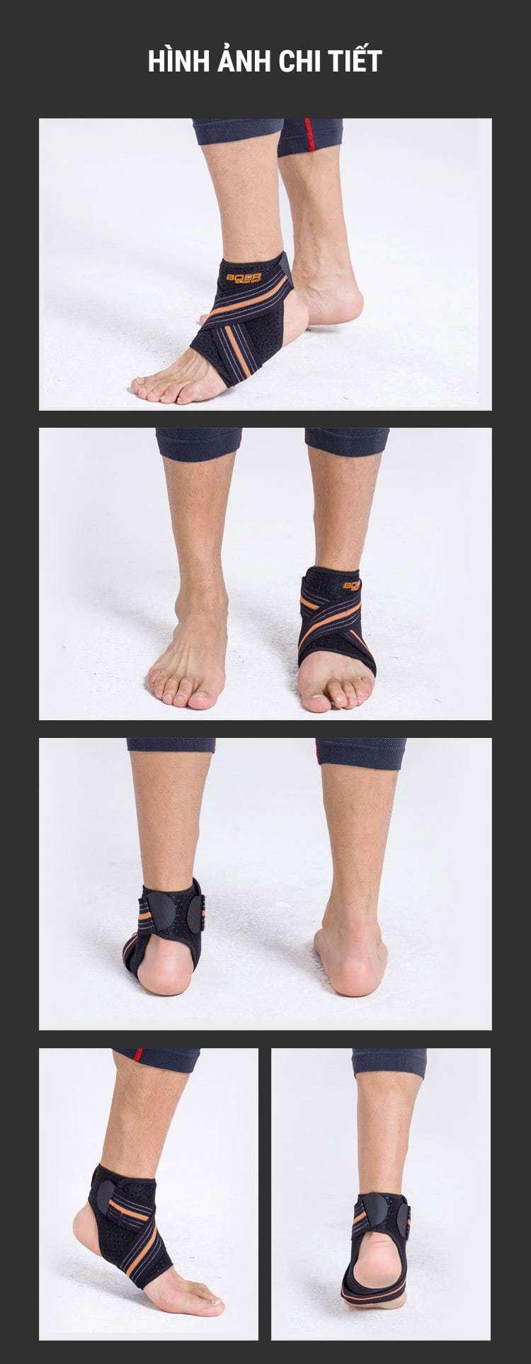 Băng thun cố định cổ chân