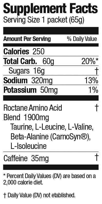 Bột năng lượng GU Roctane Energy Drink Mix (Bình 12 phần)