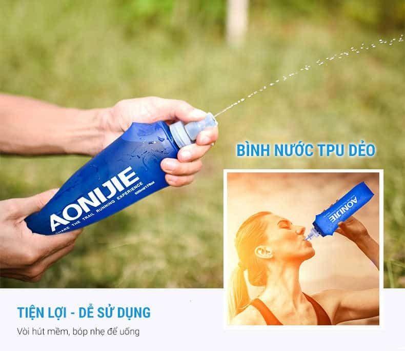 Túi nước cầm tay Aonijie A008 (kèm chai nước 500ml)