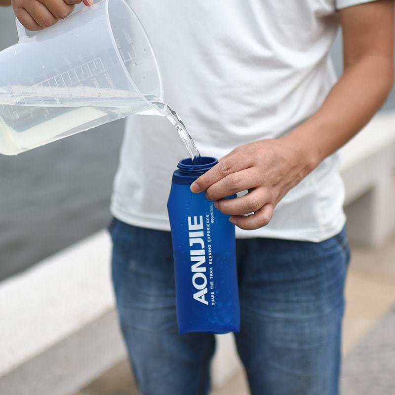 Bình nước dẻo TPU có vòi hút soft flask Aonijie (350ml/600ml)