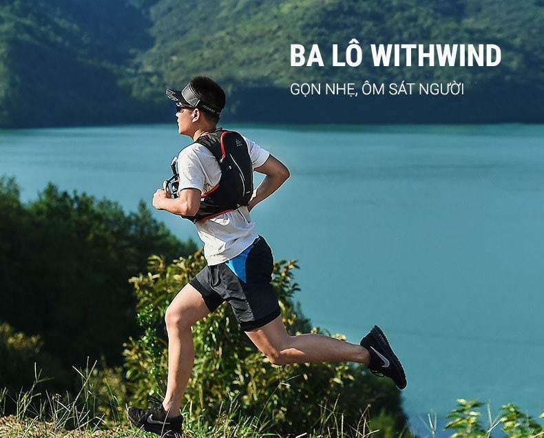 Ba lô chạy bộ chuyên nghiệp Aonijie Withwind (B026)