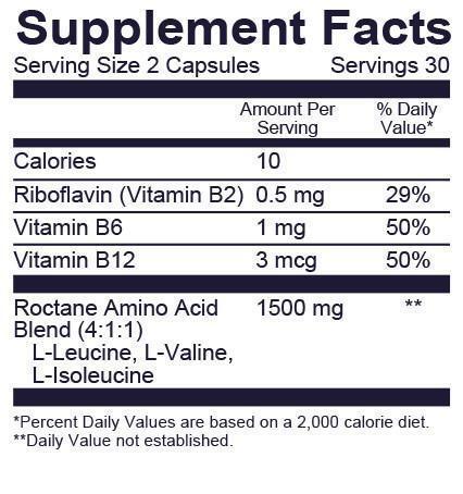 Viên nhộng GU Roctane BCAA Capsules bổ sung Amino Acids