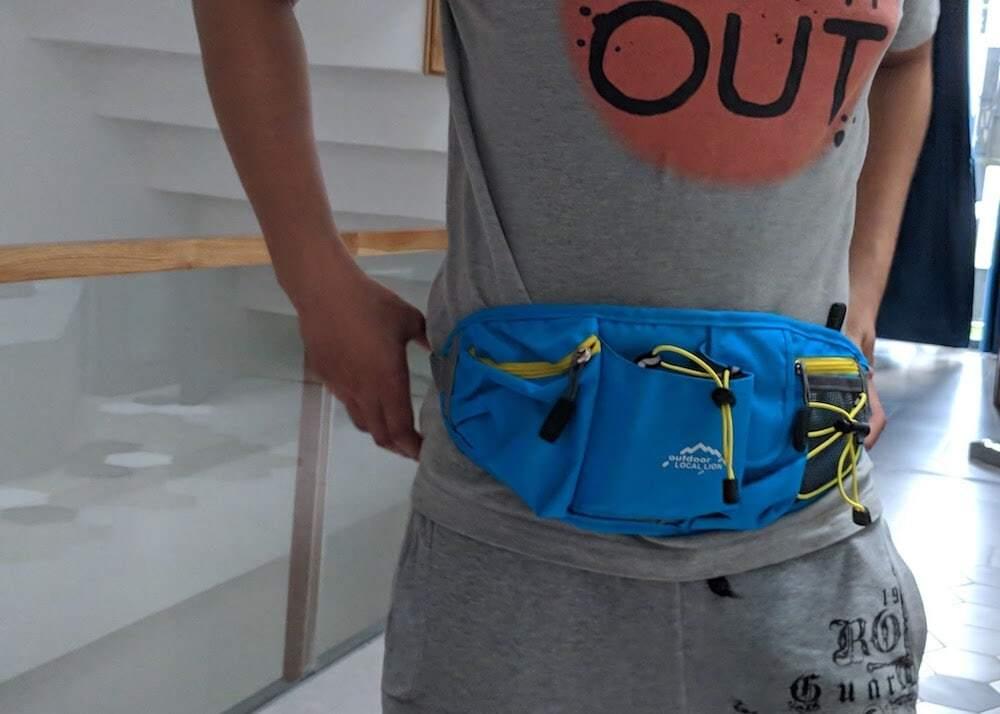 Túi đeo hông cao cấp B003
