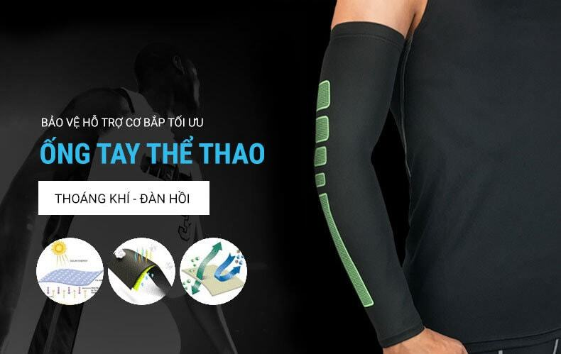 Ống tay thể thao YCB Arm Compression AS02