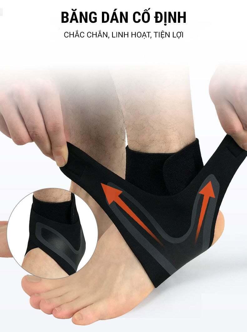 Băng thun hỗ trợ cổ chân ANK-03