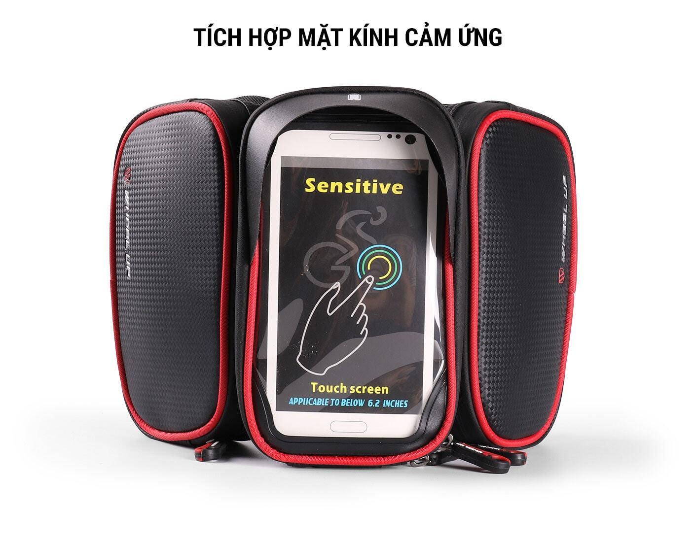 Túi treo điện thoại sườn xe chống nước Wheel Up (TB-01)