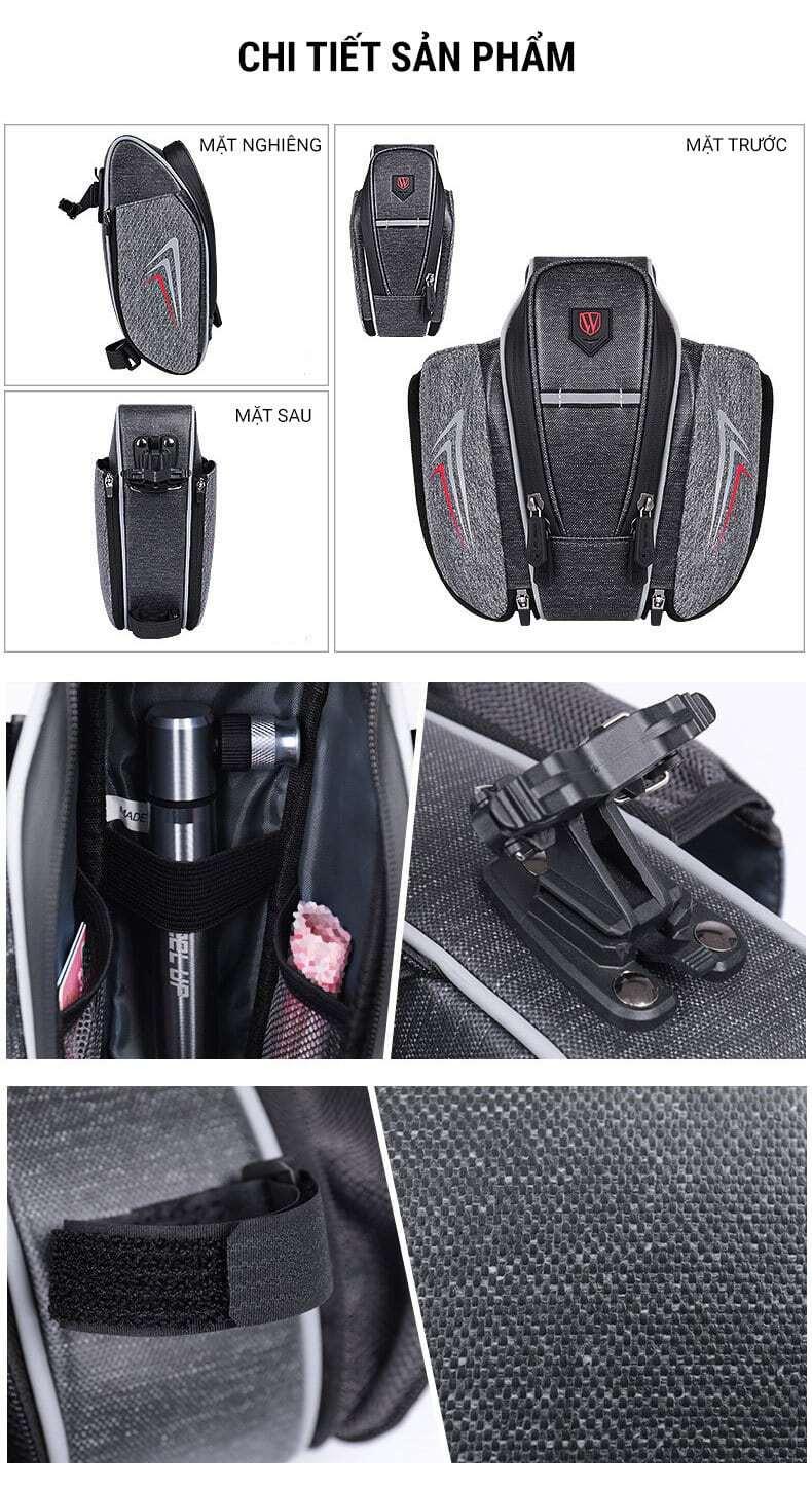 Túi yên đựng bình nước Wheel Up (SB-03)
