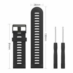 Dây đeo đồng hồ silicon Garmin Fenix 2 / Fenix 3HR / D2 / Fenix 5X