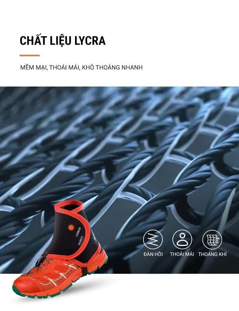 Xà cạp trùm giày chạy địa hình Aonijie Gaiters