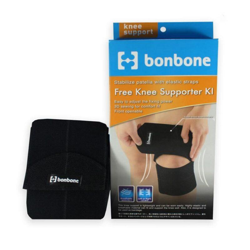 Đai cố định đầu gối cao cấp Bonbone Free Knee Supporter KI