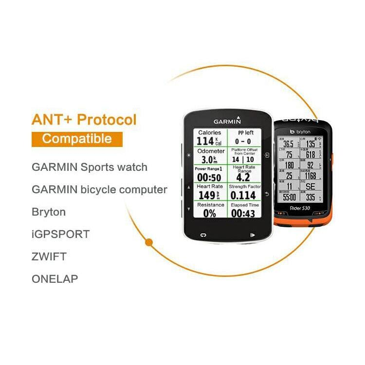 Dây đeo ngực đo nhịp tim Dual Protocol ANT+ / Bluetooth Magene MOVER