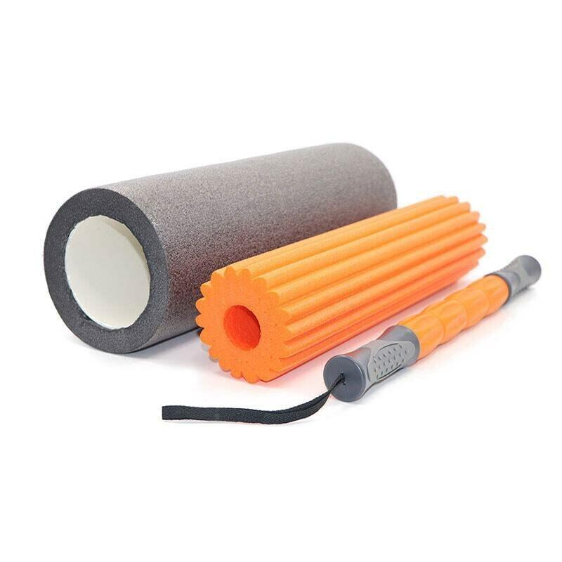 Bộ ống lăn massage Foam Roller 3 trong 1