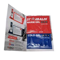 Combo gel nóng - lạnh STARBALM® Cold - Hot Gel (5ml + 5ml)