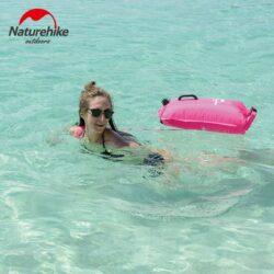Phao bơi biển open water 3 lớp NatureHike (28L)