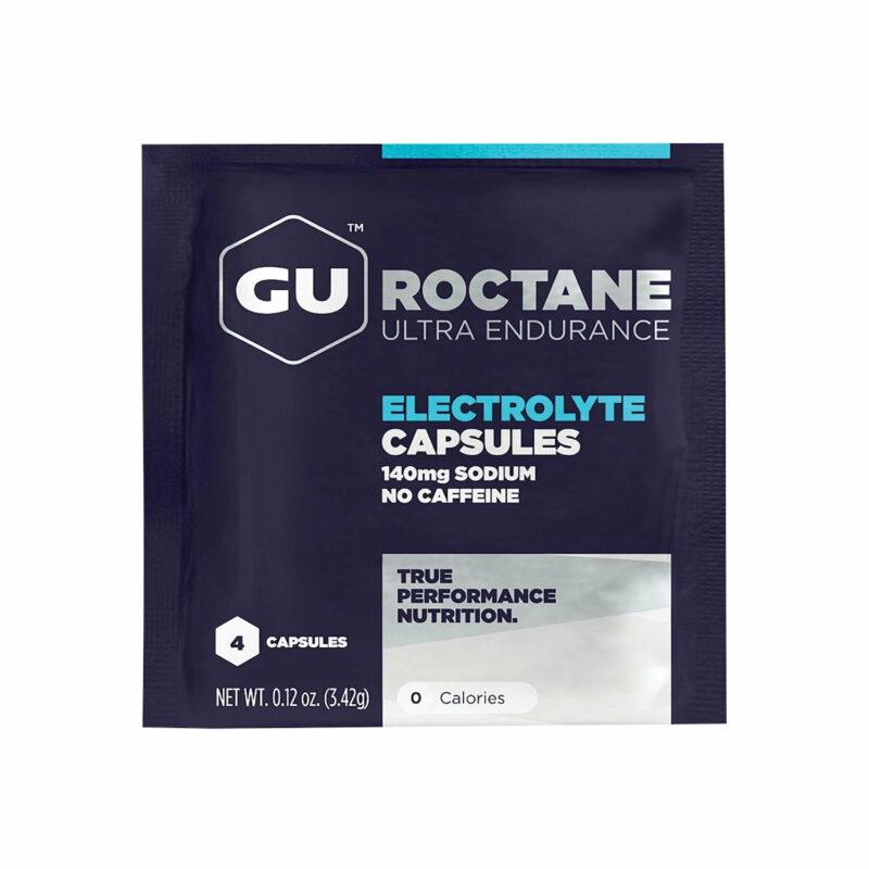 Viên muối điện giải GU Roctane Electrolyte Capsules (gói 4 viên)
