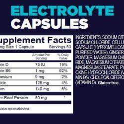 Viên muối điện giải GU Roctane Electrolyte Capsules (Hộp 50 viên)