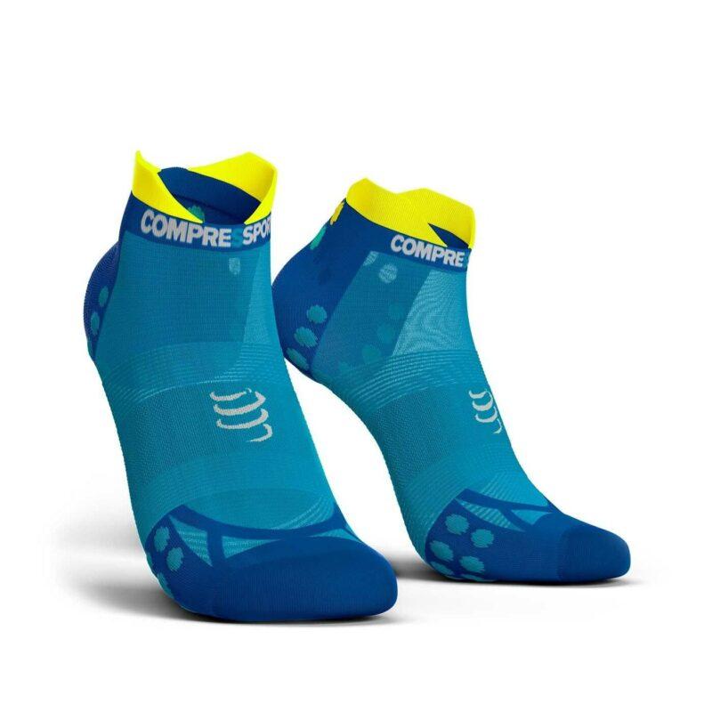 Vớ chạy bộ siêu nhẹ Compressport Pro Racing Socks V3.0 - Ultralight Run Low