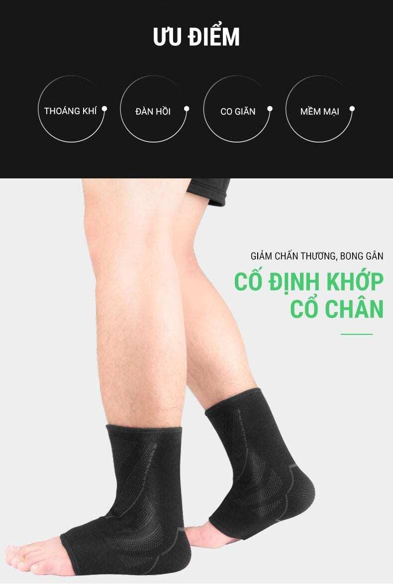 Băng thun bảo vệ cổ chân ANK-04