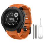 Dây đeo đồng hồ silicon Garmin Instinct New - Cam