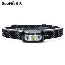Đèn pin đội đầu SupFire Headlamp HL05 (pin sạc 1000mAh)