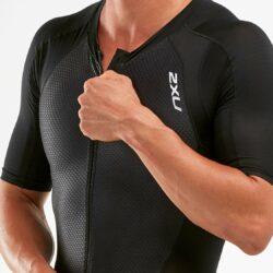 Bộ quần áo triathlon nam 2XU MCS Compression Full Zip Sleeved Trisuit