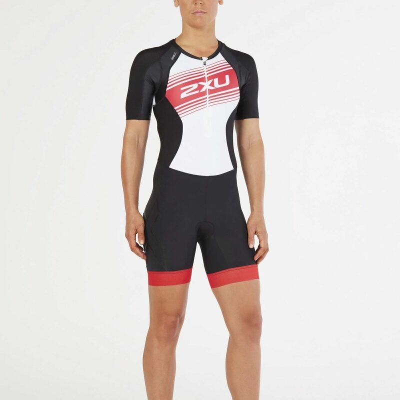Bộ quần áo triathlon nữ 2XU Women's Compression Sleeved Tri Suit