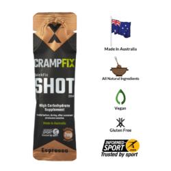 Nước uống trị chuột rút tức thời CrampFix Quickfit Shot (20ml)