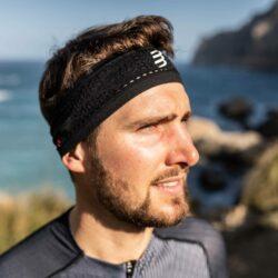 Băng trán thể thao Compressport Thin Headband On/Off