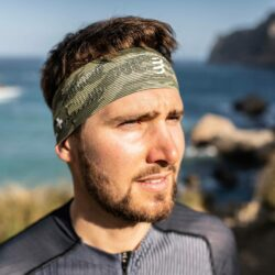 Băng trán thể thao Compressport Thin Headband On/Off