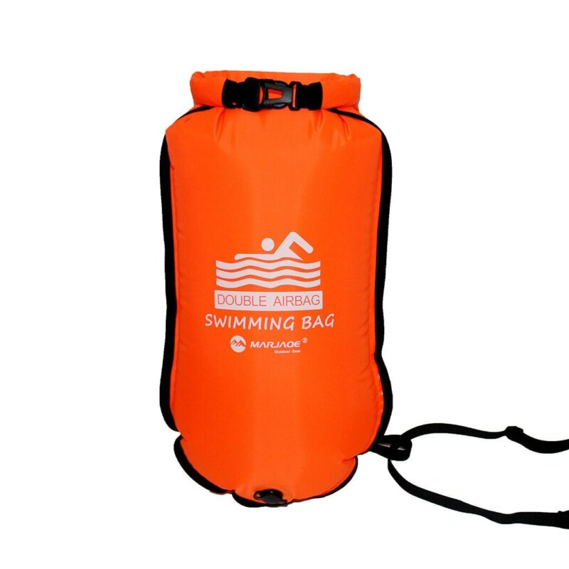 Phao bơi biển open water Marjaqe Double Airbag (20L)