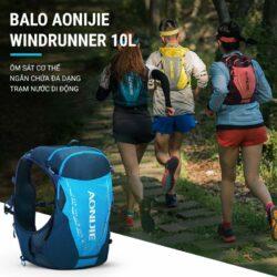 Vest nước Aonijie Windrunner 2020 10L C9103 (kèm 2 bình dẻo 420ml)