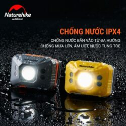 Đèn pin đeo trán Naturehike Headlamp 140Lumens (pin sạc 1200mAh)
