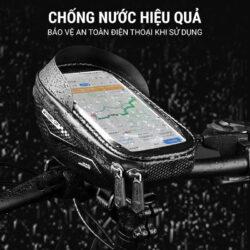 Túi điện thoại ghi đông xe đạp Wheel Up HBB-03