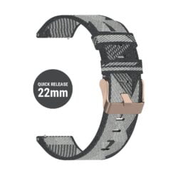 Dây đeo đồng hồ Graphite QR 22mm - Garmin Vivoactive 4, Coros Apex Pro