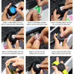 Miếng dán màn hình chống trầy Garmin Fenix 6S / 6 / 6X (combo 2 miếng)