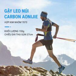 Gậy leo núi chạy trail gấp Aonijie Z-Pole Alu E4201