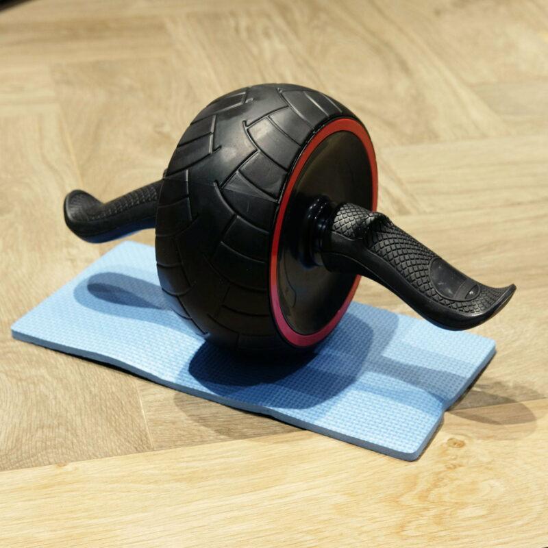 Bánh xe tập cơ bụng Gym Ab Roller DUMPO