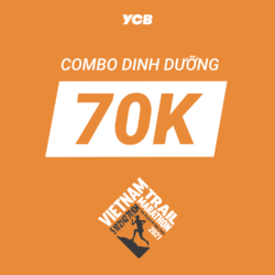 Combo dinh dưỡng Vietnam Trail Marathon - 70K