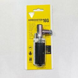 Đầu bơm CO2 Topeak Airbooster 16g (kèm theo 1 ống CO2)